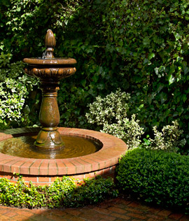 Quiet Garden Fountain